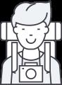 Promotion icon man